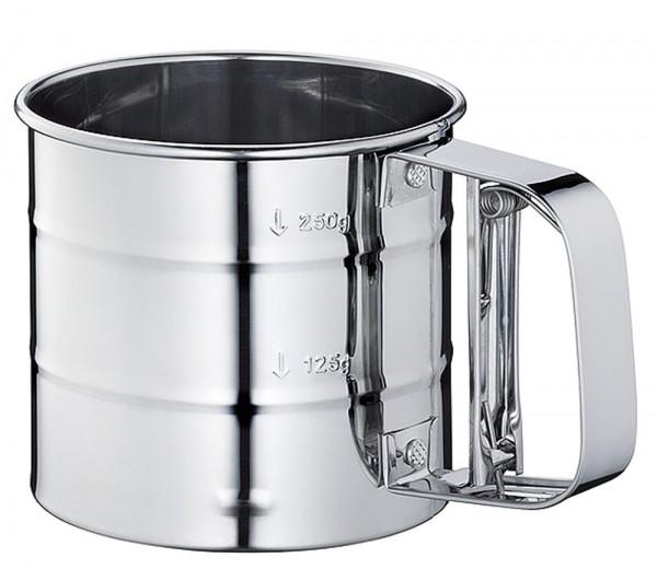 Метално механично сито за пудра захар брашно сито с дръжка тип чаша