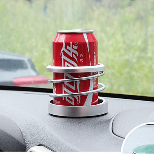 Универсална поставка за чаша за кола спирала стойка за бутилка кен