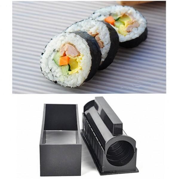 Комплект за суши от 11 части сет машинка за приготвяне на суши