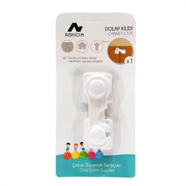 Заключващ предпазител за шкафове предпазно средство за малки деца