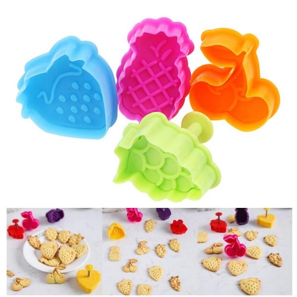 Форми за сладки плодове резци с бутало