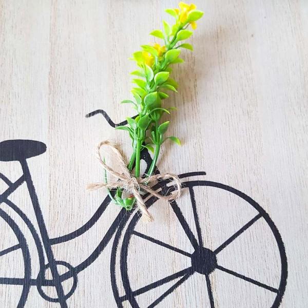 Декоративна закачалка за ключове с декорация велосипед