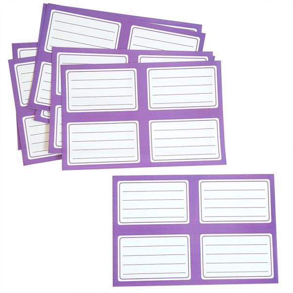 Етикети за учебници и тетрадки, 40 броя в плик