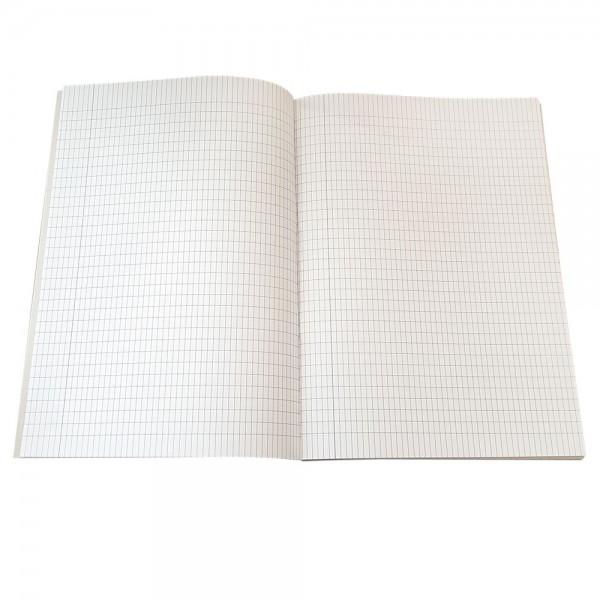 Тетрадка 60 листа голям формат А4 карирани листи офсетова хартия