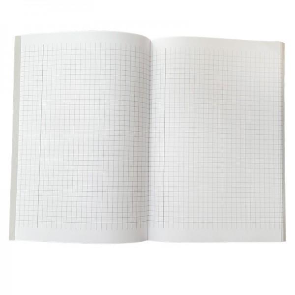 Тетрадка А5 малки квадратчета, с полета, 40 листа, офсетова хартия