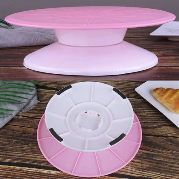 Въртяща поставка за торта стойка за декориране на сладкиши 29см
