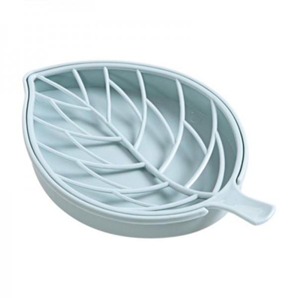 Пластмасова сапунерка с отцедник Листо