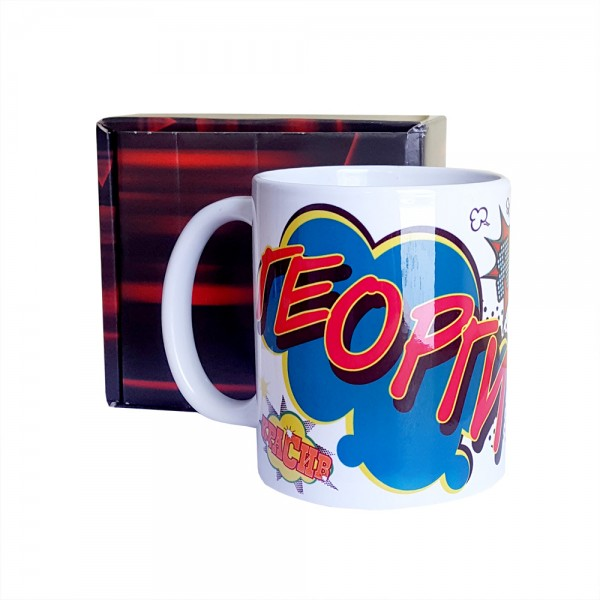 Керамична чаша с надпис ГЕОРГИ, 300ml