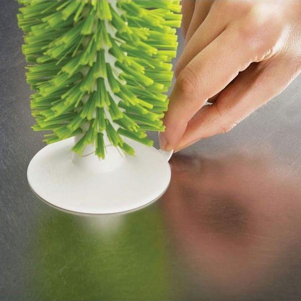 Четка за миене на чаши с вакуум