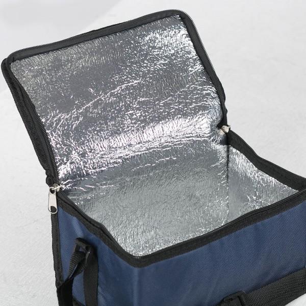 Термо чанта за храна и напитки с регулируема дръжка, 4.5 литра