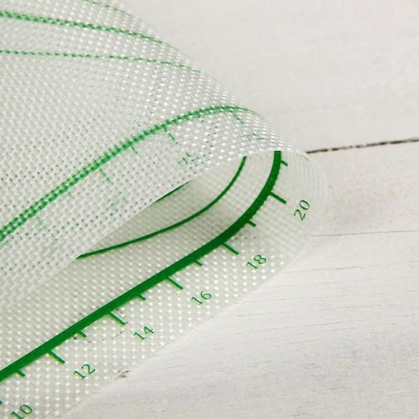 Армирана разграфена подложка за точене и месене 42×29,5 см