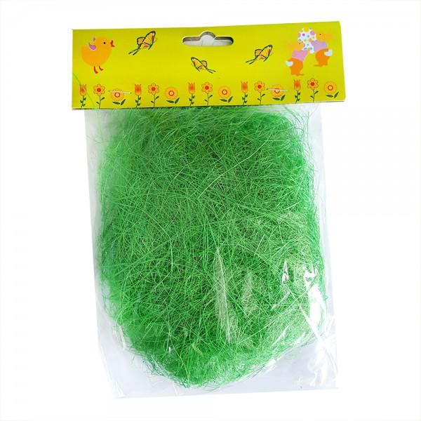 Декоративна трева за великденска украса зелена 15 грама