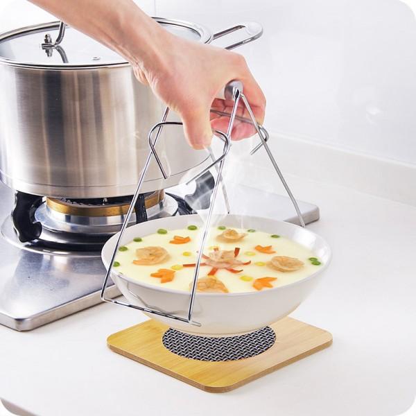 Щипка за вадене на горещи съдове щипка за буркани
