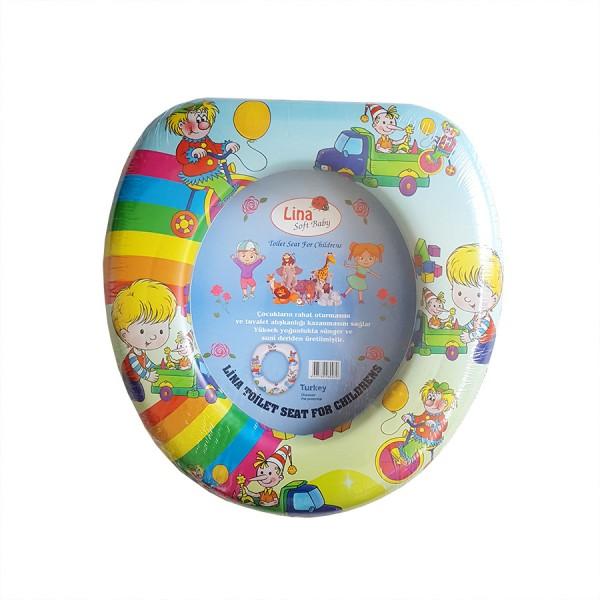 Детски адаптор за тоалетна чиния мека седалка за WC