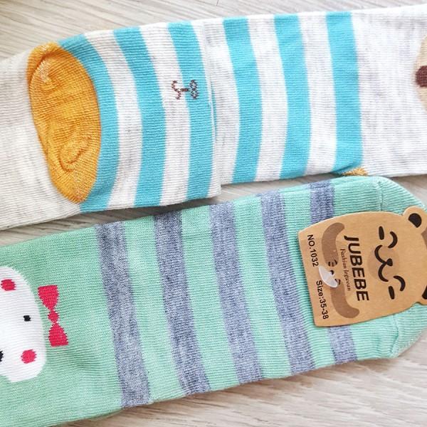 Дестки чорапи Животни с ушички, 35-38 номер