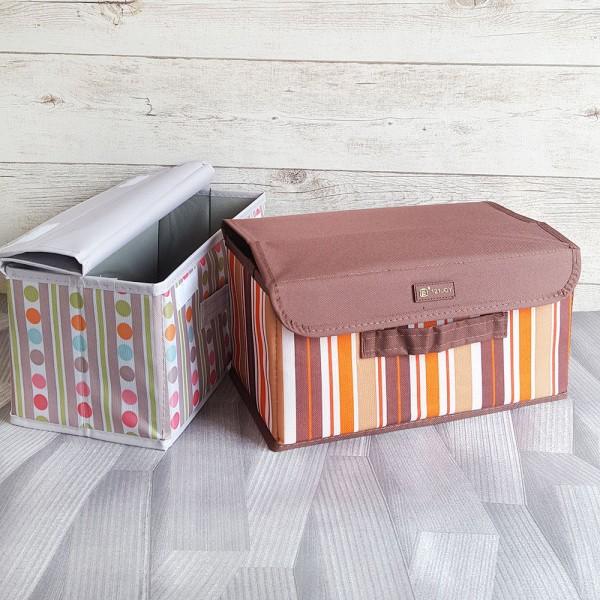 Текстилна сгъваема кутия за съхранение органайзер