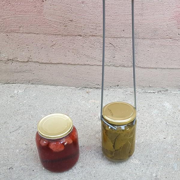 Дълга щипка за вадене на горещи буркани, 45 см