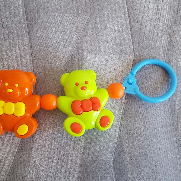 Дрънкалка за бебешка количка дрънкалки мечета играчки за бебе