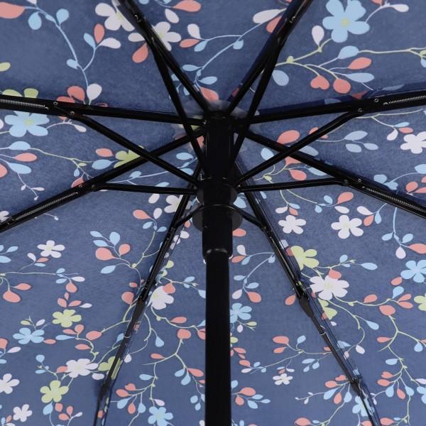 Сгъваем автоматичен чадър за дъжд двоен автомат, цветни орнаменти