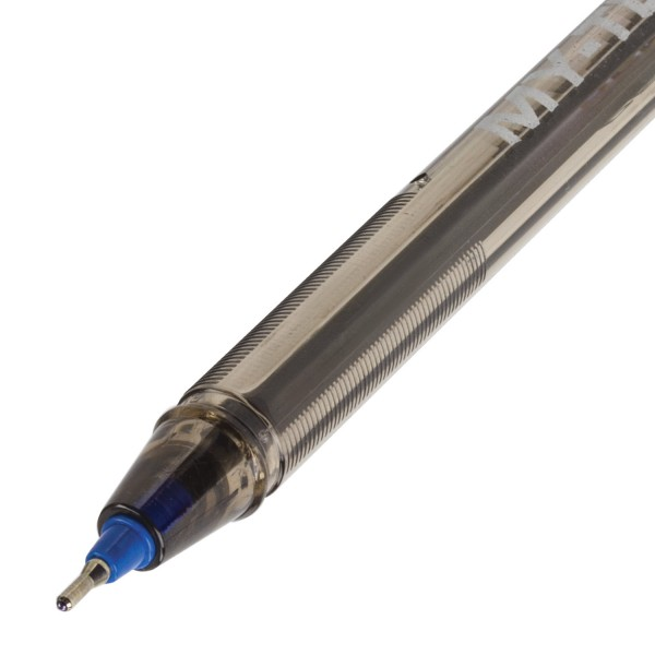 Офис химикал с капачка Pensan, синьо мастило, 0.7mm