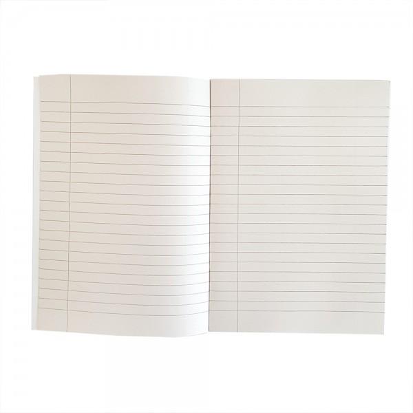 Тетрадка малък формат, широки редове, вестникарска хартия, 40 листа